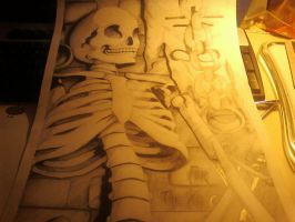 Skeleton picture by sukini