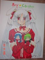 2006 Christmas Poster by Tamao