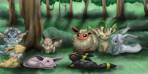 The Evee pack by LordSecond
