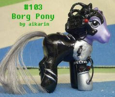 103 of Borg, Display Side by borgpony