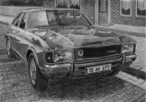 1977 Ford Granada L by orhano