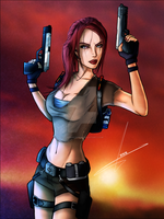 Lara Croft Tomb Raider Legend by FearEffectInferno