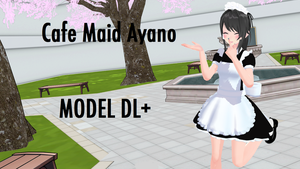 Cafe Maid Ayano - MMD [+DL] by imightloseme