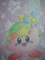 RQ: Ultra Sword Kirby by dengekipororo