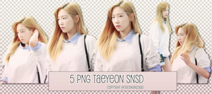 [PACK PNG] TAEYEON (SNSD) #59 by CeCeKen2000