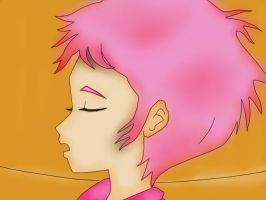Scanning Aelita by LokiSDraw