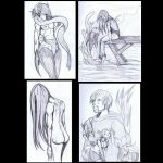 Tuesday Sketch Set 3 by eecomics