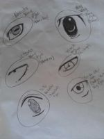 anime eyes 2 (old) by mewnekochibi