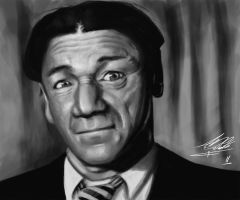 Shemp Howard by Torvald2000