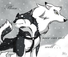 Balto's Father by Elezar