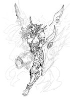 Scrapped commission - Valkyrie by GravedFish