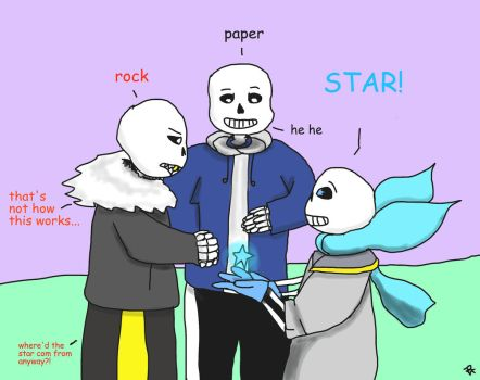 Rock, paper...STAR?! by Arerona