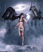 Demoness of the Universe by faegatekeeper