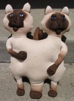 We are Siamese if you please by Belablue
