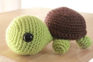 Turtle - for sale on Etsy by theyarnbunny