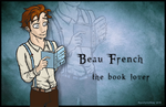 OUAT Gender Bender: Belle / Beau French by goofymoNkey