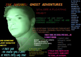 The awesomeness of Zak Bagans by Bookmachta