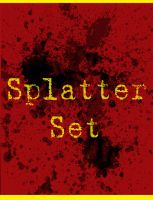 Splatter Set 01 in HQ by neocargalpha