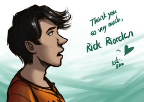 Percy Jackson - One last time by Kat-Anni