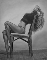 Figure drawing of a friend by Clutch-MFD
