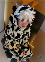 Fruits Basket: Hatsuharu Cow by VandorWolf
