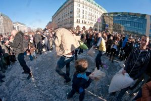 Berlin pillow fight 2011 - 25 by Egg-Salad