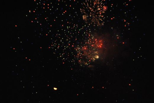 the end of the fire works by foxfire3x3