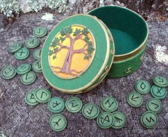 Tree of Life Rune Set by NalinaRoseStudio
