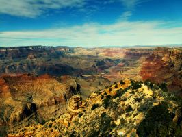 Grand Canyon Early Morning by W00den-Sp00n