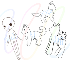 Lineart Pack 1 by cloudsnstuff