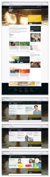 Doxa Deo Auckland Home Page + Super Dropdown by tmgtheperson
