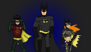 The Dark Knights (Incomplete) by DeShockwav