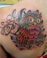 Owl of Her Grandfather by IamValo