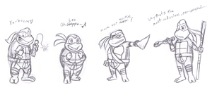 TMNT: With PoM Structure by Fuwa2-Kyara