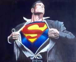 Superman by EuroFoxx