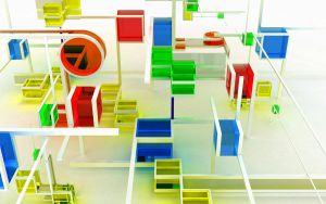 Chromatic toys4 - White by k3-studio