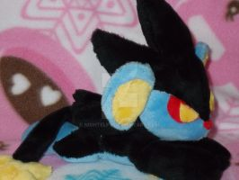 Luxray Beanie plush by nightelfy