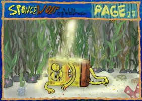 ENG SpongeWolf part 2. page 27 START PART 2. by wolfmarian