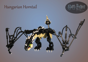 Commission: Hungarian Horntail by retinence