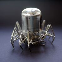 Vacuum Spider No 6 (view II) by AMechanicalMind