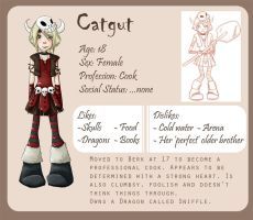 HTTYD OC - Catgut by worldvsunicorn