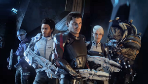 Meet the Crew -- Mass Effect: Andromeda by Marco124