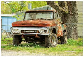 Old GMC 4x4 by TheMan268