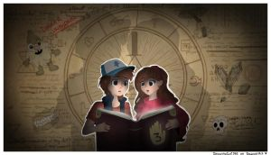 Gravity Falls: The Journal by Drawing-Heart