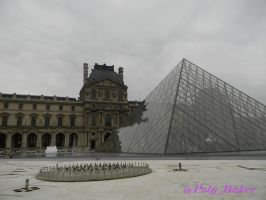 Musee du louvre by PolyBaker