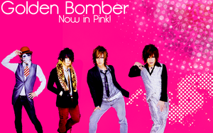 Golden Bomber - Now In Pink by Crimson-Truth