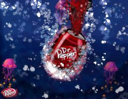 The Deep Dr Pepper by hugyucom
