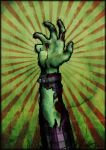 Zombie Hand by Keeyou