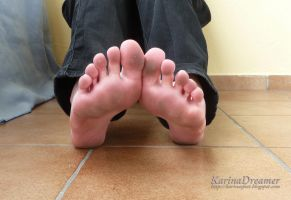 Karinas Dirty Feet by KarinaDreamer