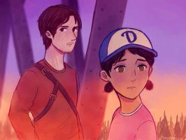 Luke and Clem by NoLlfe